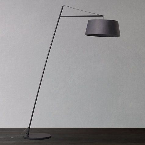 Buy John Lewis Grayson Reach Floor Lamp, Grey Online at johnlewis.com