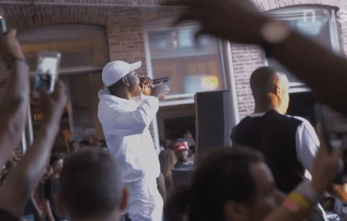 "Noisey finally share Skepta documentary ""Top Boy"".   This summer Skepta embarked on a sold out tour of East Coast America & Canada, culminating in a performance alongside Drake at the OVO fest in Toronto. Noisey were there throughout the trip to document this milestone in his career. What happened was very spiritual and very crunchy."