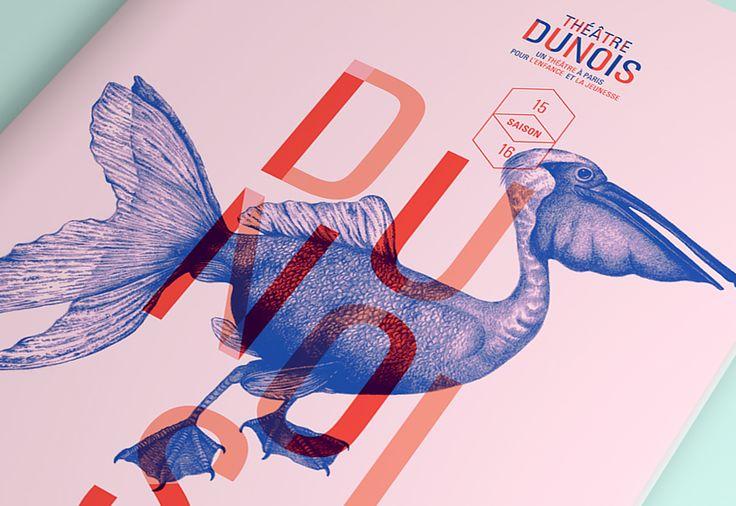 Les produits de l'épicierie, design graphique, Théâtre Dunois, Théâtre jeune public, Paris Saison 2015/2016