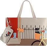 "Radley Signature handbag, ""Joyride""  - love the colors, humor, and fun of these bags!"