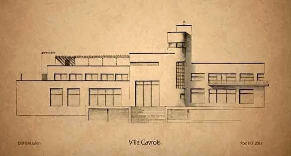 585 best robert mallet stevens images on pinterest villas friends and architecture for Plan villa de luxe