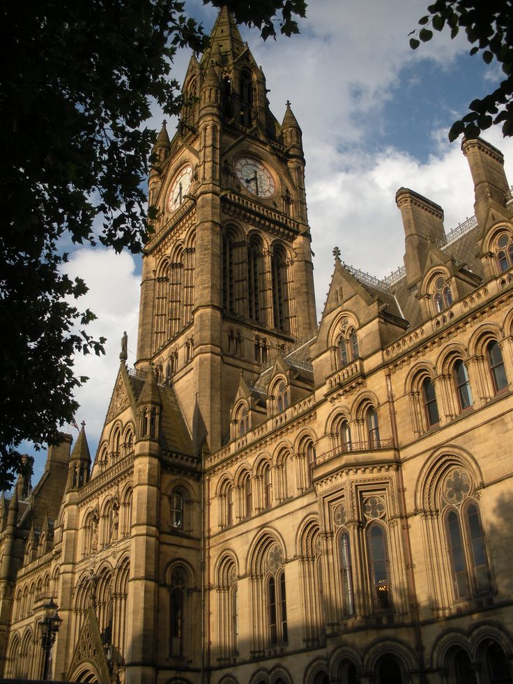 Town Hall in Manchester England