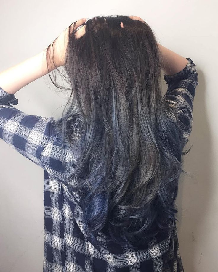 The 25 best blue hair highlights ideas on pinterest colored blue grey ash with ombr balayage cleo hair international call here 63385250 for book pmusecretfo Choice Image