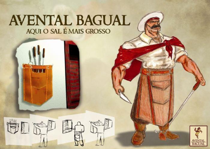 Avental Bagual - Bronco Apron by Fernando Galdino at Coroflot.com