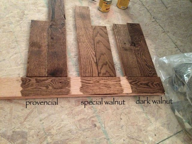 Minwax Stains We Have Used Quot Provincial Quot And Been Very