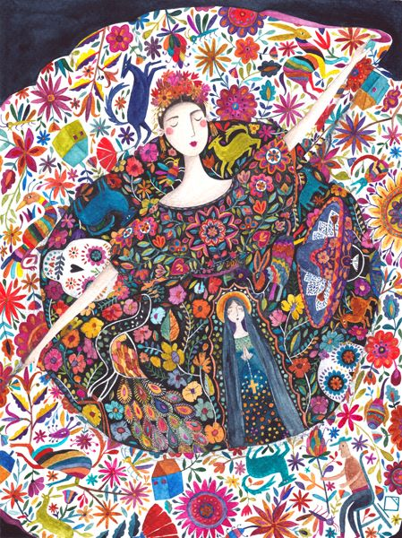 kürti andrea #mexico #illustration
