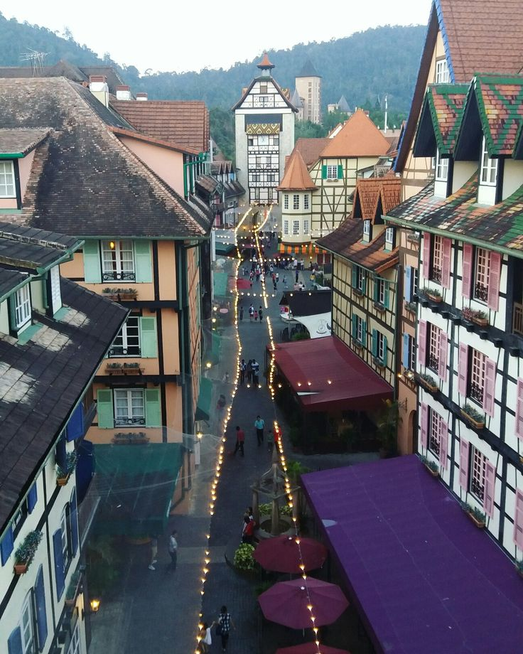 The French themed resort Colmar Tropicale at Bukit Tinggi, Malaysia #frenchresort #whereismybeast #shortgetaway #bukittinggi