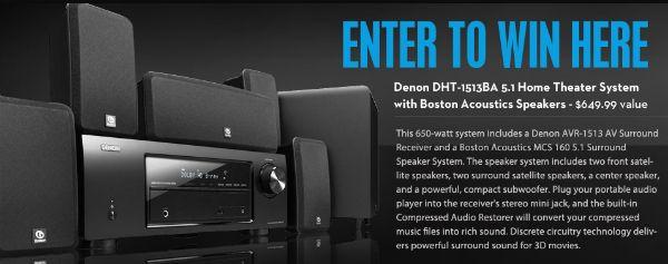 Denon Home Theater System