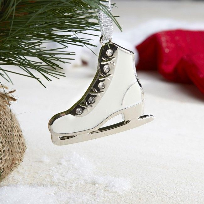 This is the perfect ornament for the figure skater in your life.