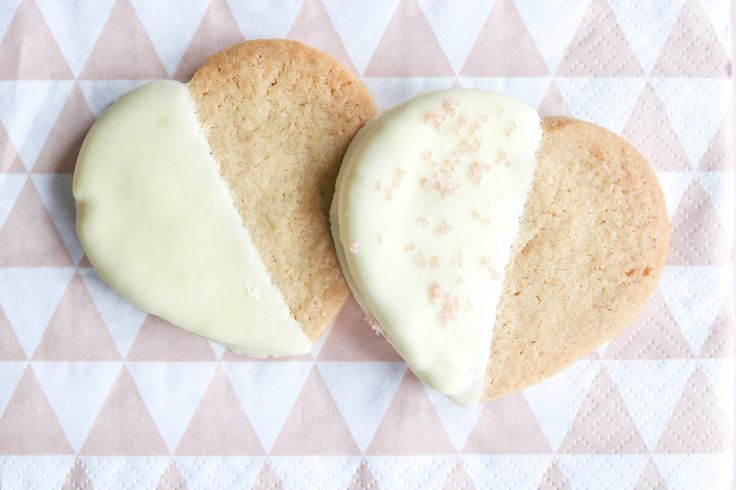 Ivory Heart Cookies — all the sweetness