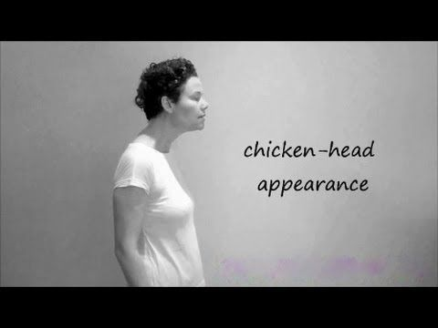 As we hunch over our computers and phones, lean forward to cook and wash dishes, and generally just continue aging, we develop this forward head look that's not only unattractive but possibly damaging to our health. This video offers ways to reverse it.