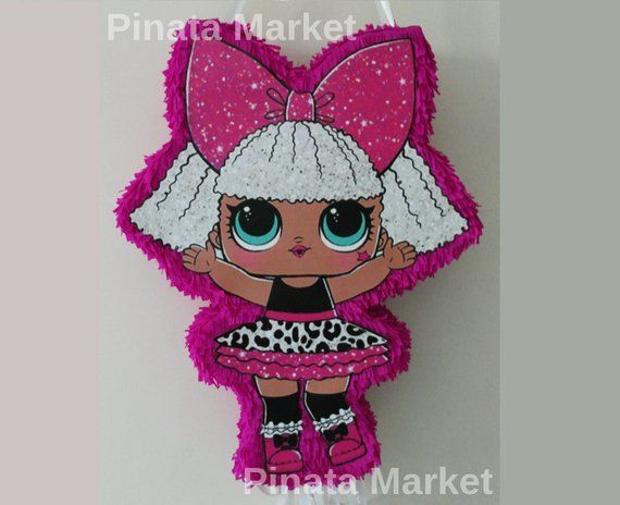 Pinata Puppe. lol Mädchen Geburtstagsparty Dekoration Überraschung – lol …   – LoL Dolls
