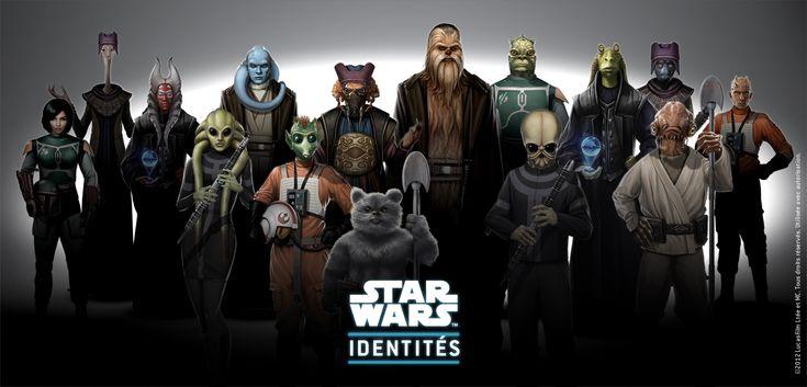 Galerie de Héros Star Wars | Personnages Star Wars, Créez votre Héros | Star Wars Identités