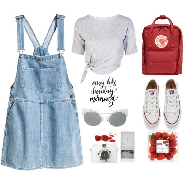 A fashion look from April 2016 featuring H&M, Converse sneakers and Fjällräven backpacks. Browse and shop related looks.