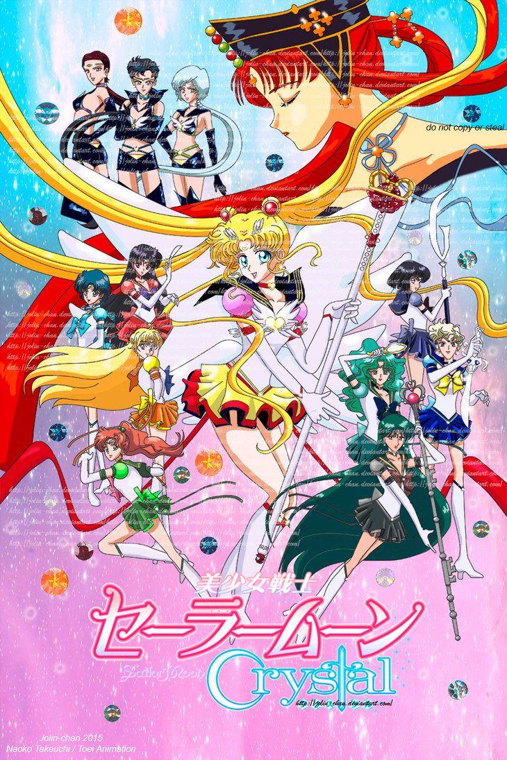 Sailor Moon Crystal Stars by Jolin-chan.deviantart.com on @DeviantArt