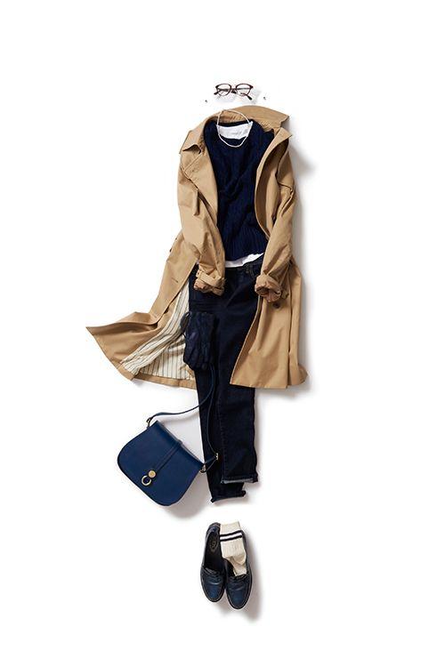 kk-closet | 2015-11-20 ザ・トラッドが着たい日 今日は王道のフレンチトラッド。男の子がしそうなカジュアルスタイルが着たくなりました。ここに、パールのネックレスで女らしさも出して。パリの女の子みたいに、キュッと髪をゆるく束ねて着たい気分。