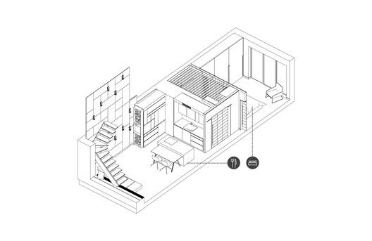 Apartment For A Guy And Even Two Of Them,Diagram 1