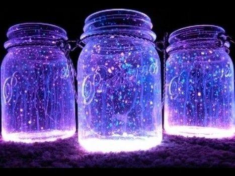 Spring break activities for kids: How to make fairy glow jars/ fairy lanterns