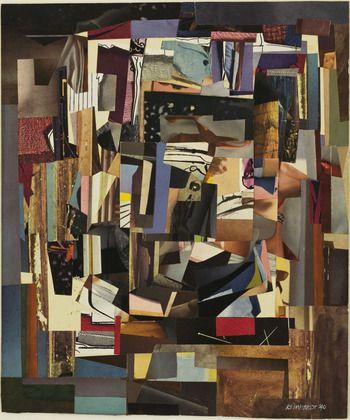 Ad Reinhardt. Collage. 1940