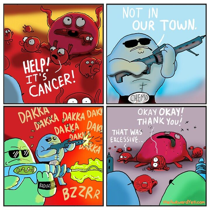 Take that cancer!