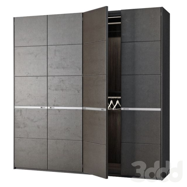 3d модели: Шкафы - Poliform Bangkok 4 doors