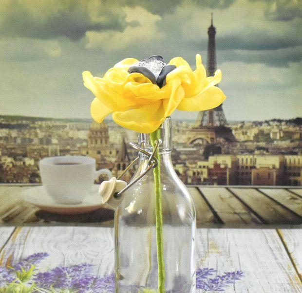 Kwiaty na patyku - AgaSam-Kwiaty - Dekoracja stołu