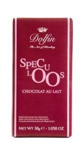 Dolfin 30g. Ciocolata cu lapte si biscuiti Speculoos