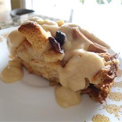 Best Bread Pudding with Vanilla Sauce Best Ever!  Used Paula Deens vanilla sauce instead.