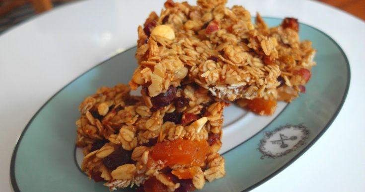 Aneta Goes Yummi: Zdravé a nesmierne chutné figové flapjacks so zmesou sušeného…