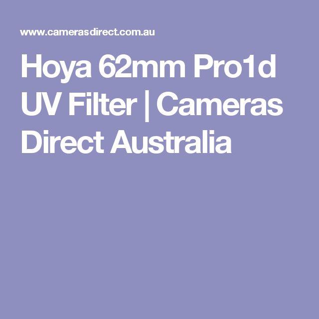 Hoya 62mm Pro1d UV Filter | Cameras Direct Australia