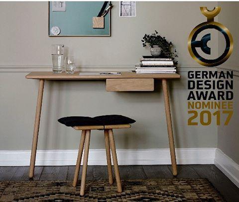 We are so proud to announce that the Georg desk have bee nominated for the German Design Award 2017.  Congrats to the designer @chrisliljehal.  #Skagerak #danishdesign #interiordesign #desk #smallspaces #interiordesign #housedecor #indoor #inspiration #designaward #germandesignaward2017
