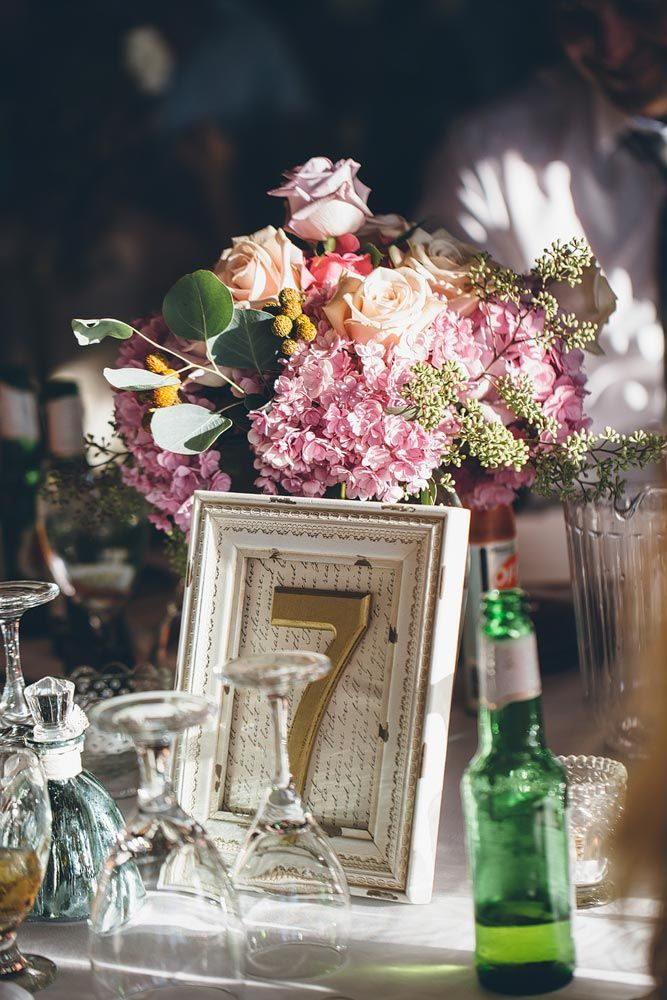 Gorgeous table settings for this Elk Ridge Resort Wedding  https://mjand.co/elk-ridge-resort-wedding-photography/ Marriage on the Pond - MJ&Co. Wedding Photographers