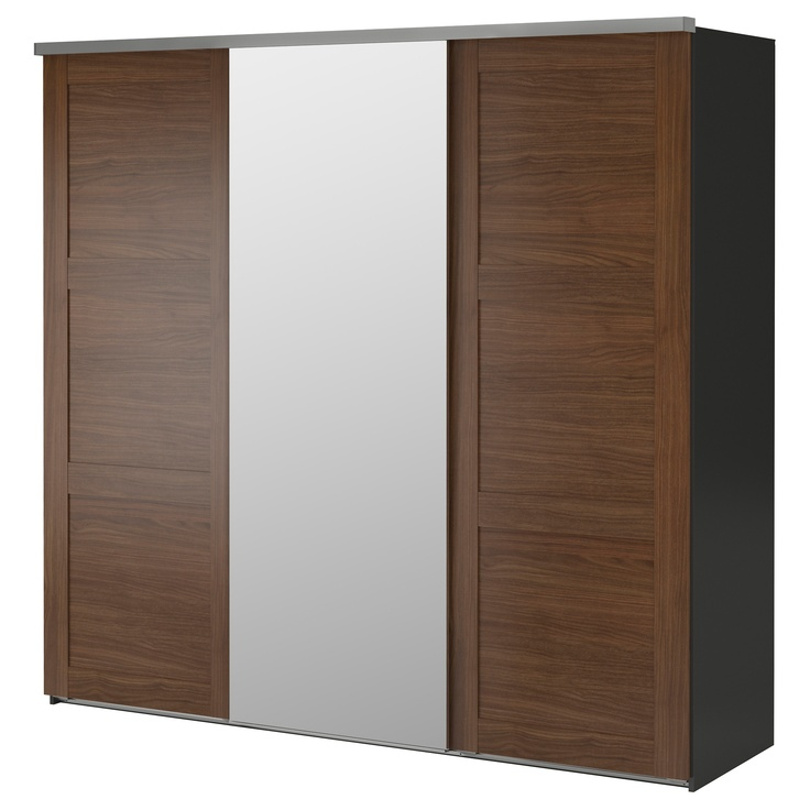 Oltre 1000 idee su armoire porte coulissante ikea su for Porte coulissante salon ikea