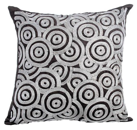 Velvet Charcoal Gray Pillow Cover 16x16 Luxury Etsy Decorative Pillow Shams Grey Decorative Pillow Velvet Throw Pillows