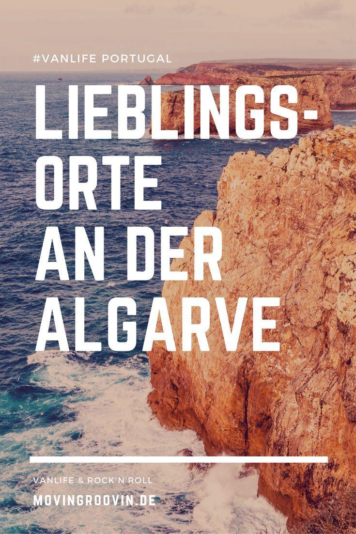 Lieblingsorte an der Algarve, Portugals Südküste: Praia da Marinha - Albufeira - Cabo de São Vicente bei Sagres - Sagres - Praia da Zimbreirinha - Campingplatz Mikki's Place bei Pera. Dazu Tipps zum Freistehen an der Algarve!