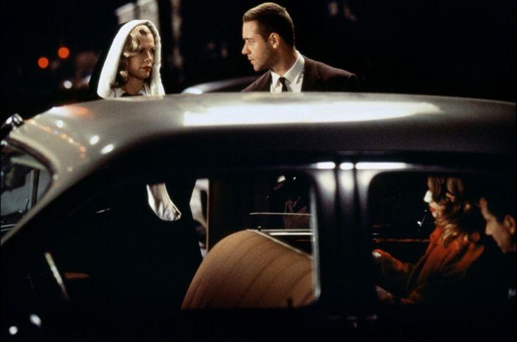 """""""L.A. Confidential"""" de Curtis Hanson programmé jeudi 25 mai à 21h15 http://www.forumdesimages.fr/les-programmes/glamour/l.a.-confidential_1"""