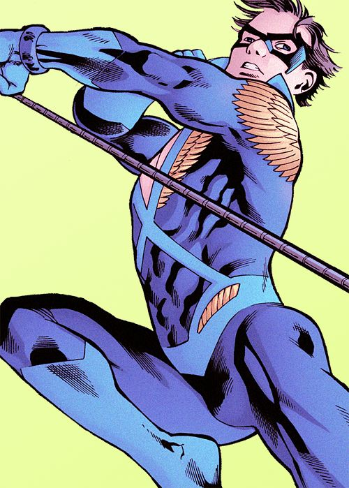 Dick Grayson (Nightwing) in Convergence: The New Teen Titans #2