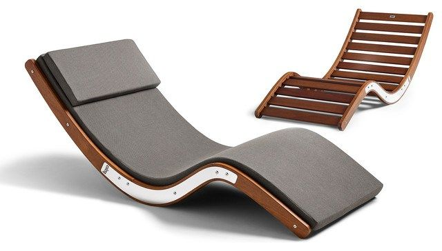 kwila sun loungers modern outdoor chaise lounges other by lujo