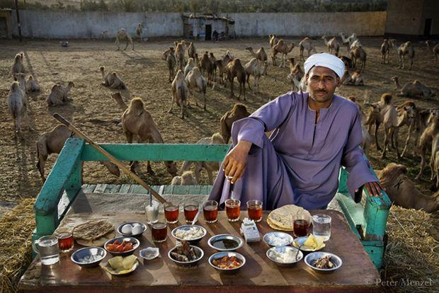 A tevekereskedő 3200 kalóriát fogyaszt egy nap alatt