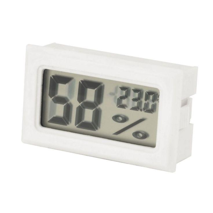 Mini Digital LCD Indoor Thermometer Hygrometer Sensor Kelembaban Meter Thermometer Hygrometer Suhu Gauge dengan baterai
