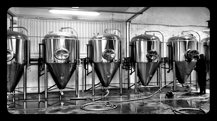 Our fermentors at Redwell Brewery, getting cleaned down ready for our first brew, follow for more brewery shots #craftbeer #brewery
