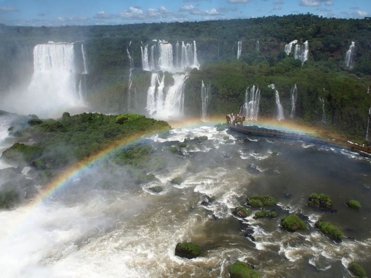 The amazing waterfalls of #Iguaçu #Iguazu in #Argentina and #Brasil visited in my Round the World Trip #Weltreise2014