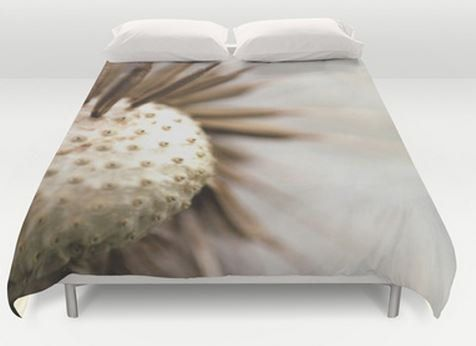Nature Bed Cover  Dandelion Photography  by ShelleysCrochetOle