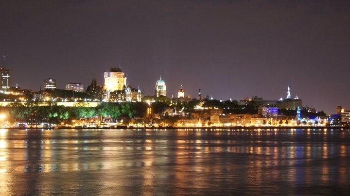 our honeymoon in Quebec City