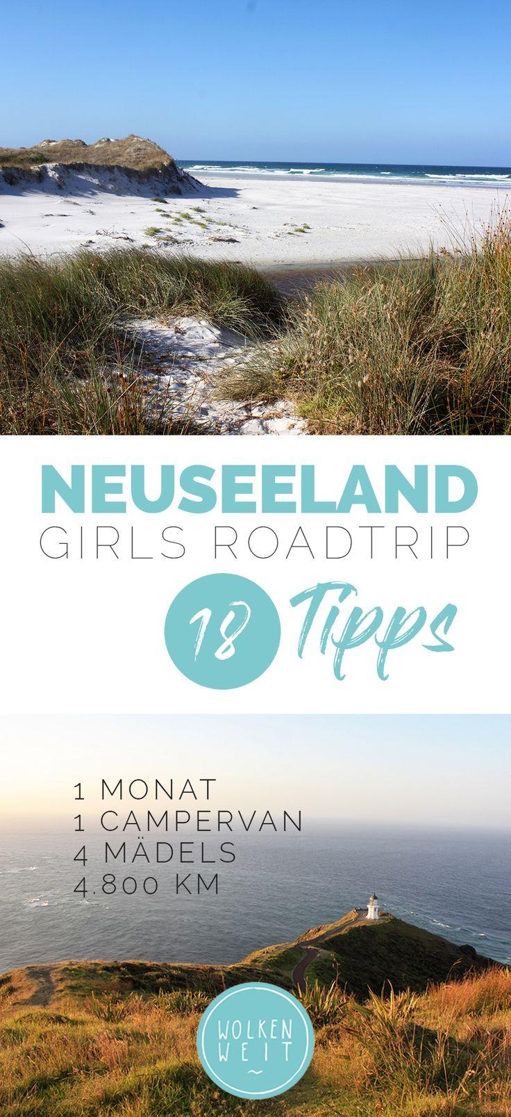 Neuseeland Roadtrip – 18 Reisetipps für das andere Ende der Welt // 4.500 km, 1 Campervan, 4 Mädels, 4.800 km