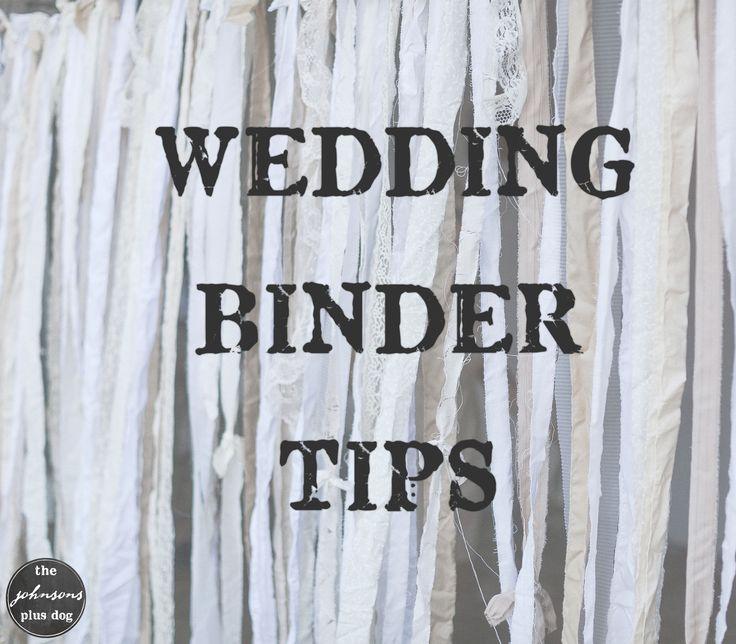 Best 25 Wedding Planning Binder Ideas On Pinterest: 17 Best Ideas About Wedding Binder On Pinterest