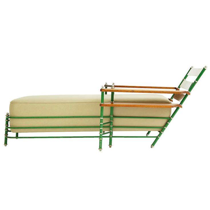 58 best warren mcarthur images on pinterest art deco for Art deco chaise longue