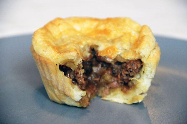 Spécialité d'Australie: Meat Pies
