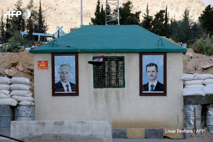 Syria: Putin and Assad at Wafideen checkpoint today, and no Eastern Ghouta civilians leaving the enclave despite 'truce'