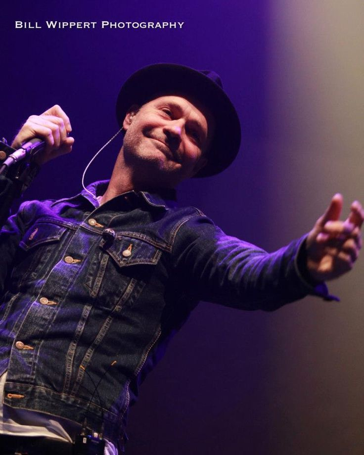 Gord Downie of The Tragically Hip -Bill Wippert Photography